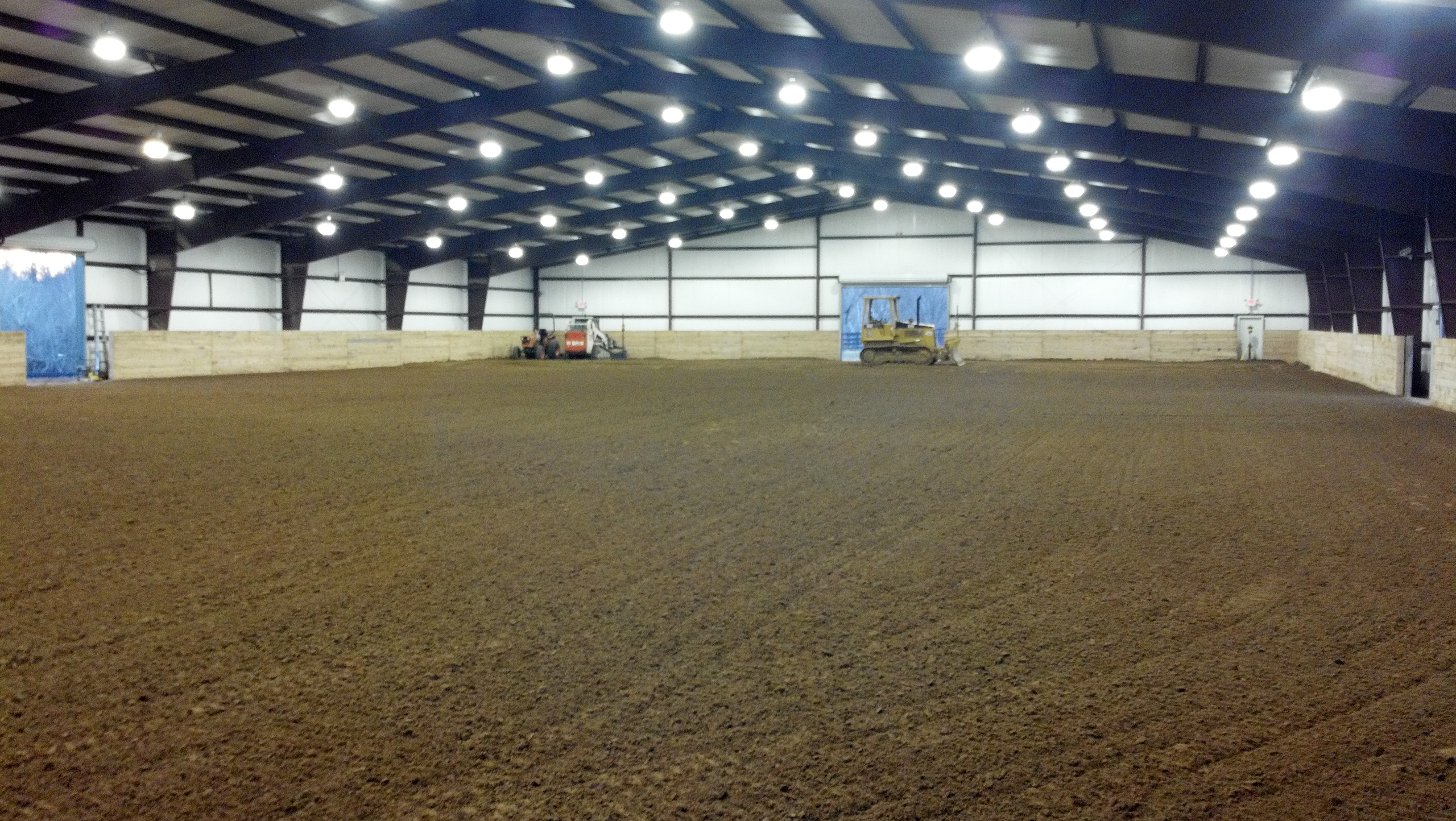 Horse Arena Taylor Bros Inc Site Development